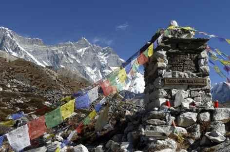 Mémorial sous le Lhotse - Népal -