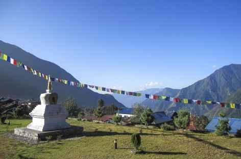 Vue depuis Lukla - Népal -