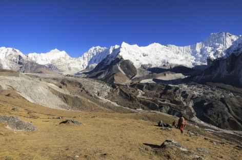 Descente sur Chukung - Népal -