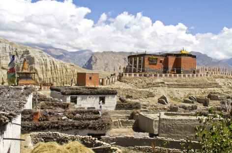Monastère de Tsarang - Népal Mustang -