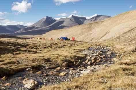 Camp d'altitude - Népal Mustang -