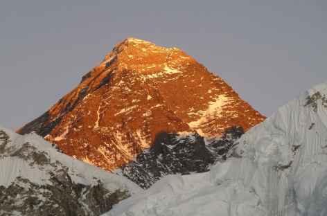 Soleil couchant sur le toit du monde - Népal -