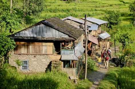 Village des basses vallées - Népal -