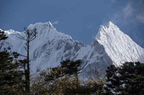 Thamserku depuis Tengboche - Népal -