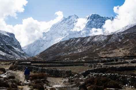 Entre Lungden et Thame - Népal -