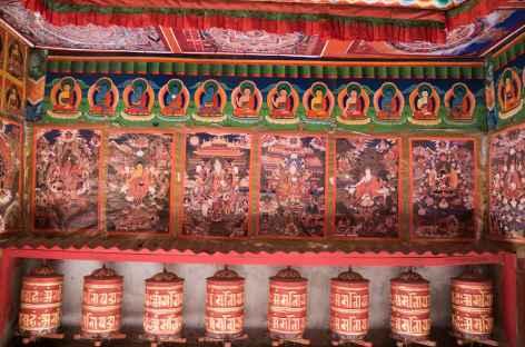 Décoration d'un chorten - Népal -