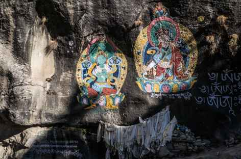 Peinturale murales - Népal -