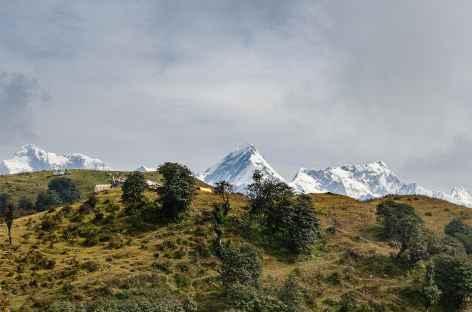 Entre Barpak et Laprak Manaslu -