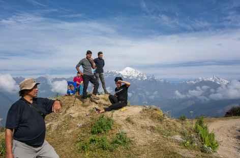 Entre Barpak et Larpak Manaslu -