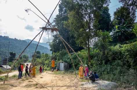Balançoire Népal -