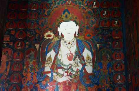 Temple de Jampa à Lo MonthangMustang-Népal -