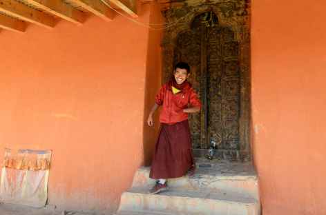 Gardien des clés de Jampa LhakhangMustang-Népal -