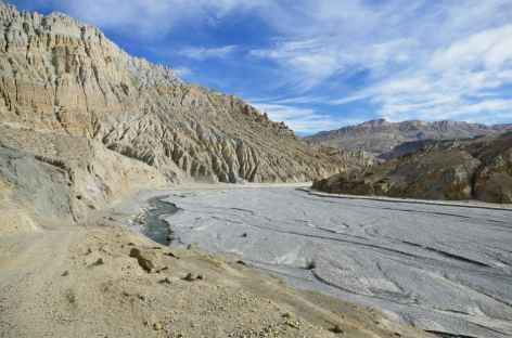 Vallée de la Mustang Khola -