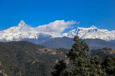 Machhapuchhare et Annapurna 2 -