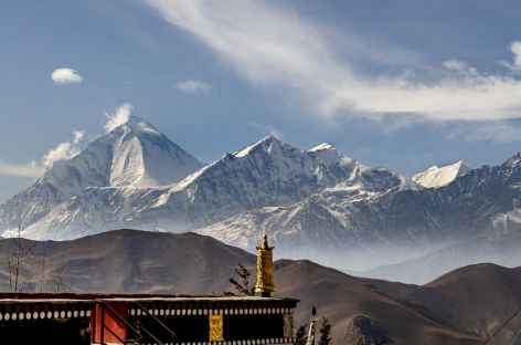 Daulhagiri depuis Muktinath Népal -