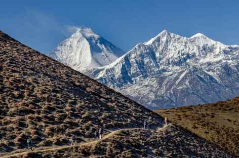 Daulhagiri en allant sur Lupra Népal -