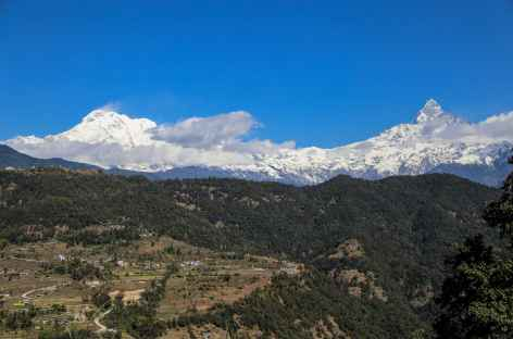 Annapurna South et Machhapuchhare -