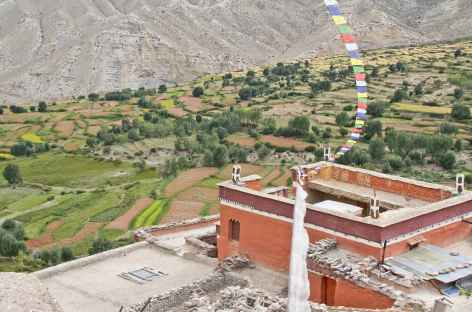 Monastère de Gelling Mustang Népal -