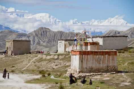 Vers Garphu Mustang Népal -