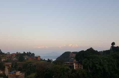 Coucher de soleil sur Bandipur -
