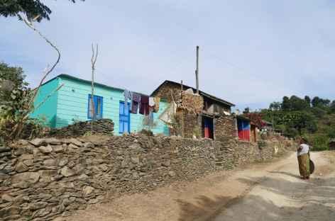 Village de Ramkhot près de Bandipur -