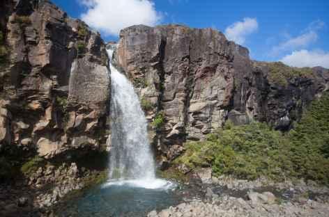 Les chutes de Taranaki, massif du Tongariro - Nouvelle Zélande -
