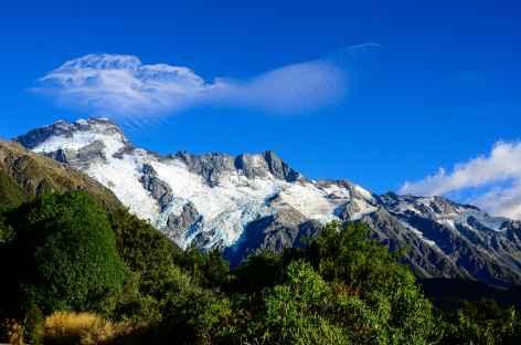 Mont Sefton depuis le village du Mont Cook - Nouvelle Zélande -