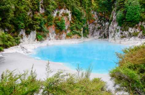 Site géothermique de Waimangu - Nouvelle Zélande -