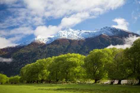 Montagnes du massif d'Aspiring - Nouvelle Zélande -