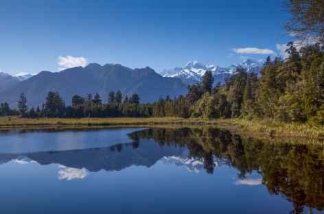 Lac miroir de Matheson - Nouvelle Zélande -
