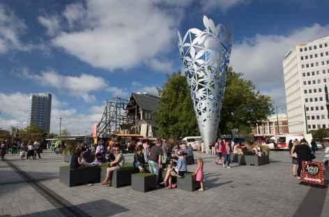 Centre-ville de Christchurch - Nouvelle Zélande -