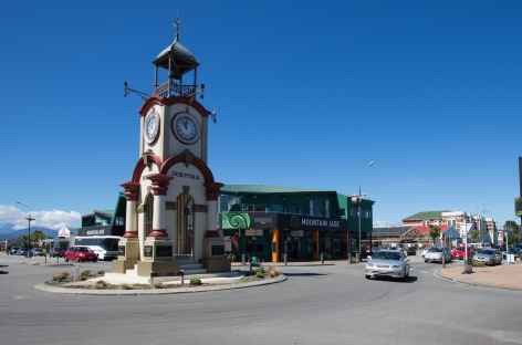 Centre d'Hokitika, capitale du jade - Nouvelle Zélande -