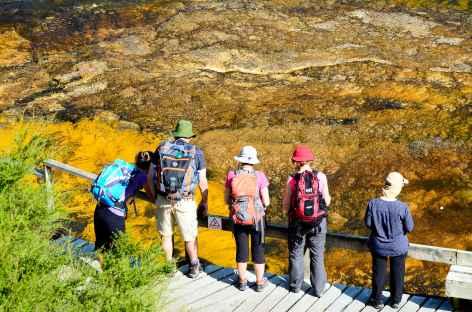 Site géothermique d'Orakei Korako - Nouvelle Zélande -