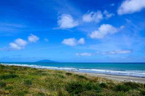 Otaki Beach, sur la côte de Kapiti - Nouvelle Zélande -