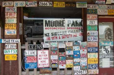 Village de pionniers à Ross - Nouvelle Zélande -