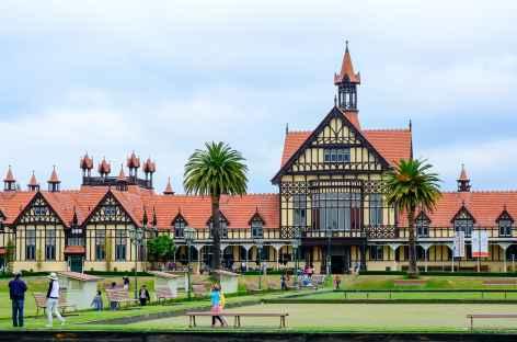 Edifice du Bath House à Rotorua - Nouvelle Zélande -