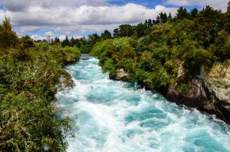 Chutes d'eau de Huka Falls - Nouvelle Zélande -