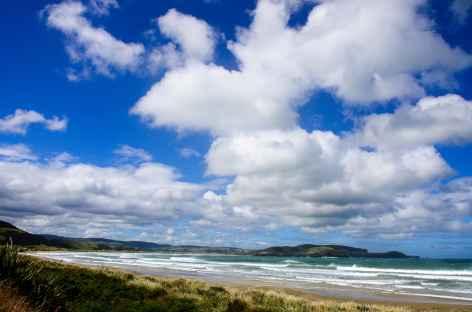 Belle côte sauvage des Catlins - Nouvelle Zélande -