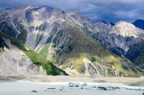 Glacier Tasman et ses icebergs - Nouvelle Zélande -