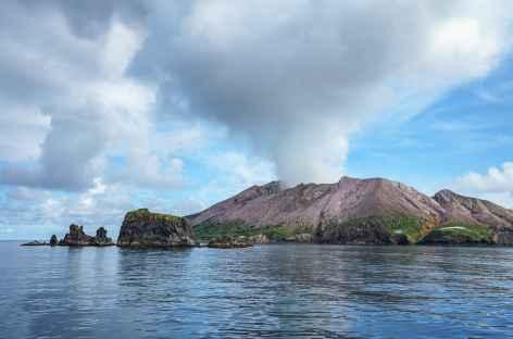 Île-volcan de White Island, Nouvelle Zélande -