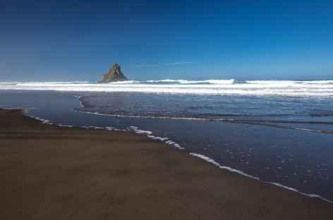 La plage de Karekare - Nouvelle Zélande -