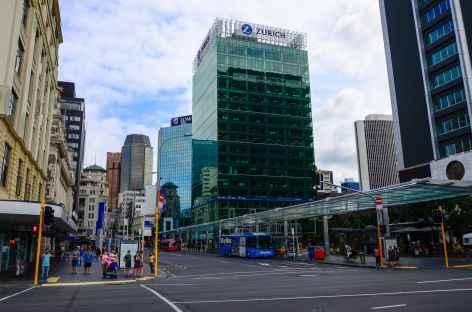 Centre-ville d'Auckland - Nouvelle Zélande -