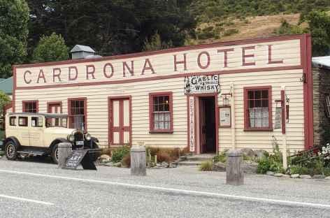 Cardrona, sur la plus haute route du pays - Nouvelle Zélande -
