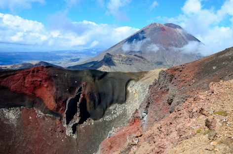 Red Crater, massif du Tongariro - Nouvelle Zélande -