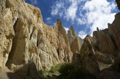 Falaises d'argiles de Clay Cliffs, Omarama - Nouvelle Zélande -