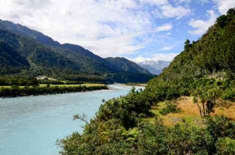 Départ de notre randonnée pour Roberts Point - Nouvelle Zélande -