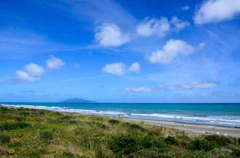 Côte sauvage vers Otaki Beach - Nouvelle Zélande -