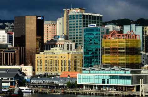 Centre-ville de Wellington - Nouvelle Zélande -