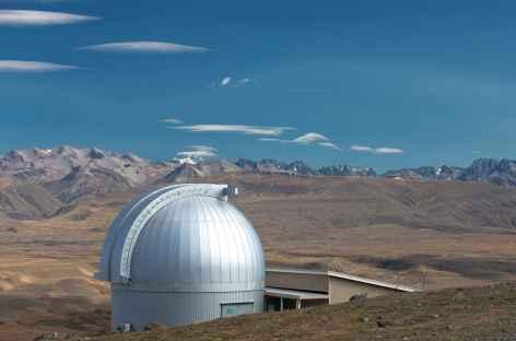 Observatoire au sommet du Mt John à Tekapo - Nouvelle Zélande  -