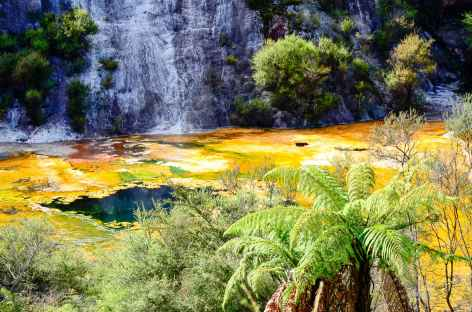Site géothermique de Orakei Korako - Nouvelle Zélande -